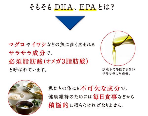 DHAやEPAはサラサラ成分の必須脂肪酸
